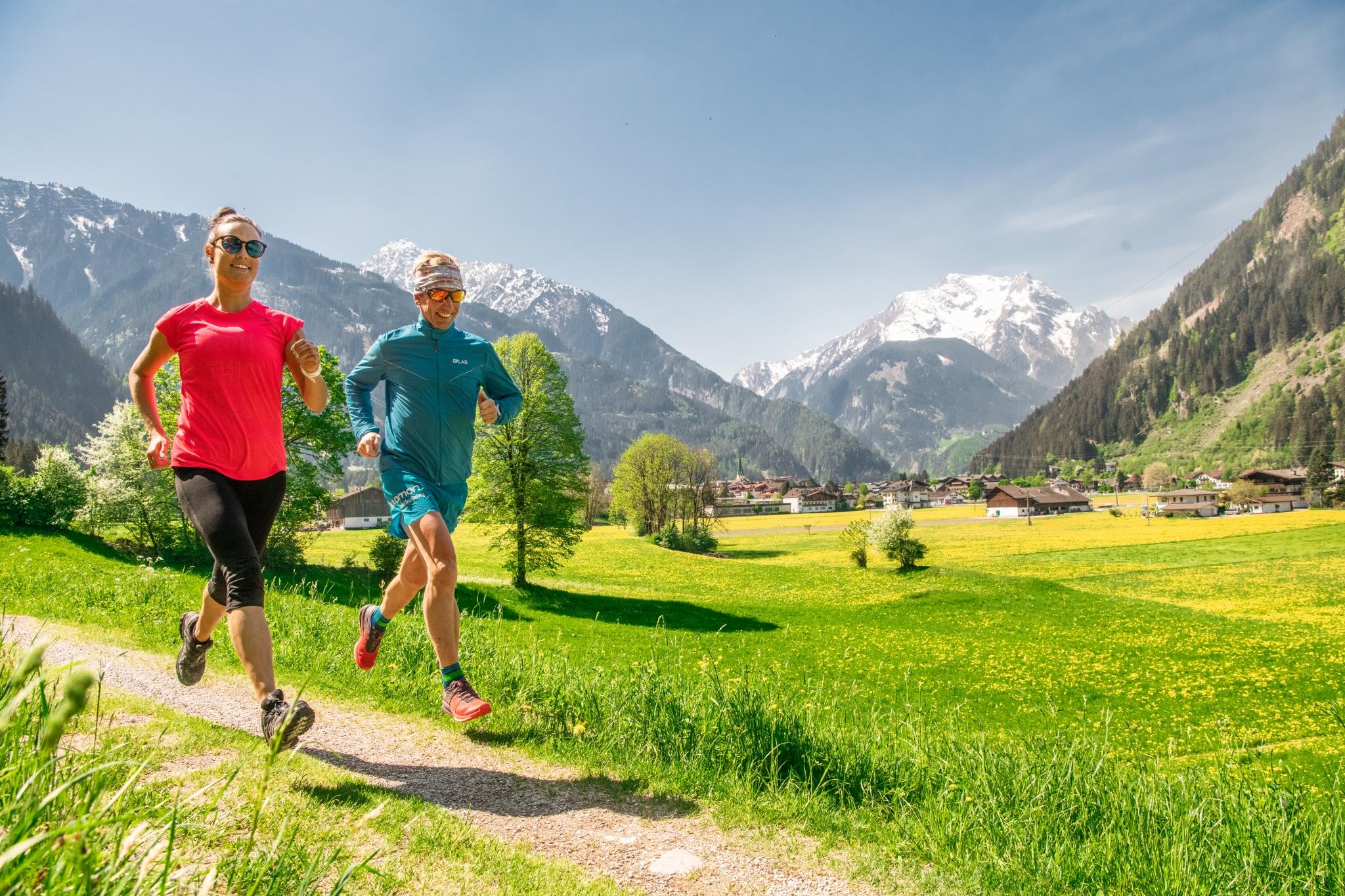 Trailrunner in Mayrhofen