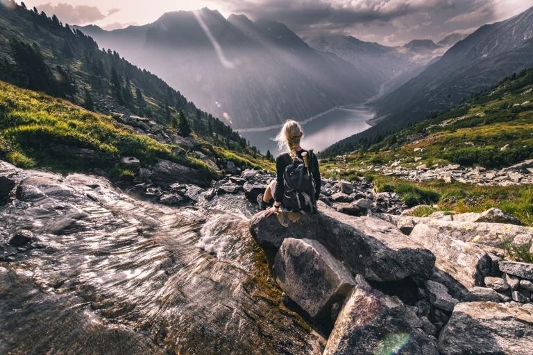Wanderung zur Olpererhütte